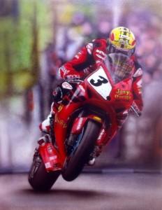 John McGuinness TT winner